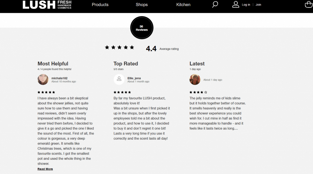lush-reviews